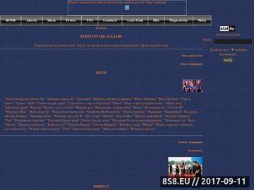 Zrzut strony Muzyka z twojego śpiewnika