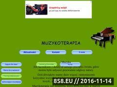 Miniaturka domeny www.muzykoterapia.cba.pl