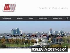 Miniaturka domeny www.mwhome.pl
