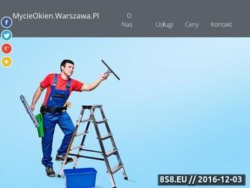 Zrzut strony Mycie okien i witryn sklepowych w Warszawie