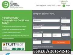 Thumbnail of Parcel Delivery Website