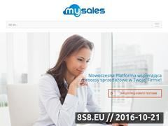 Miniaturka domeny mysales.pl