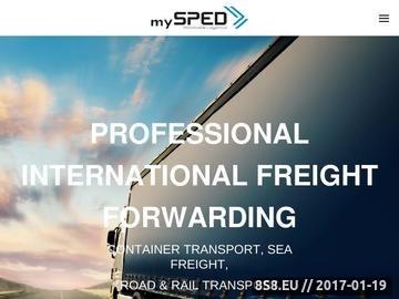 Zrzut strony Transport kontenerów - transport kolejowy