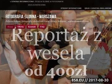 Zrzut strony Fotograf Warszawa