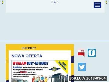 Zrzut strony Opony - MZK Skierniewice