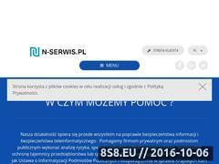 Miniaturka domeny www.n-serwis.pl