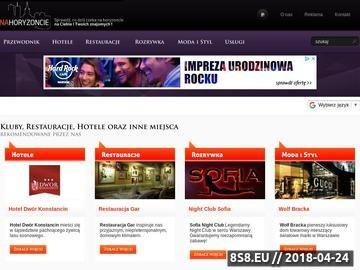 Zrzut strony Imprezy Warszawa