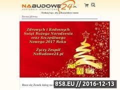Miniaturka domeny www.nabudowe24.pl