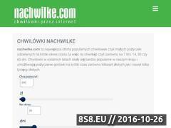 Miniaturka domeny www.nachwilke.com