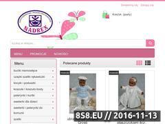 Miniaturka Ubranka dla niemowląt (www.nadrex.pl)