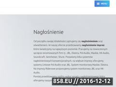 Miniaturka domeny naglosnienie.studiomusic.pl