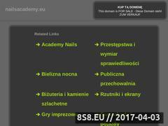Miniaturka domeny www.nailsacademy.eu