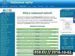 Miniaturka domeny www.najlepsze-opisy.pl
