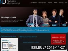 Miniaturka domeny www.najlepsze-ubezpieczenia.pl