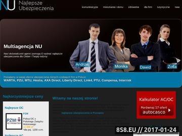 Zrzut strony Najlepsze ubezpieczenia w Poznaniu