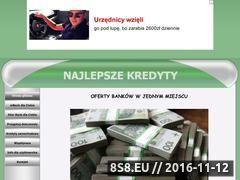 Miniaturka domeny www.najlepszekredyty.cba.pl