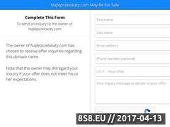 Miniaturka domeny najlepszelokaty.com