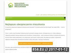 Miniaturka domeny najlepszeubezpieczeniemieszkania.pl