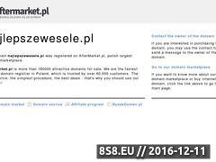 Miniaturka domeny www.najlepszewesele.pl