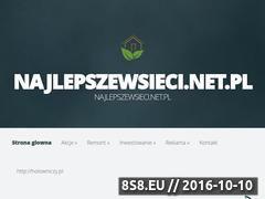 Miniaturka domeny najlepszewsieci.net.pl