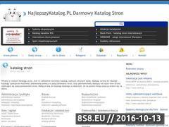 Miniaturka domeny najlepszykatalog.pl