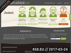 Miniaturka domeny najtansze-oc.com.pl