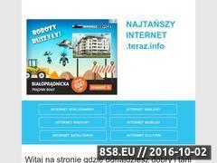 Miniaturka domeny najtanszy-internet.teraz.info