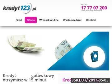 Zrzut strony Najtanszy-kredyt.net - znajdź najlepszy kredyt gotówkowy