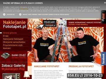 Zrzut strony Fototapety Warszawa