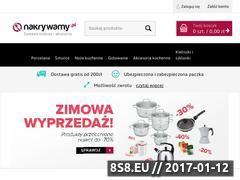 Miniaturka domeny www.nakrywamy.pl