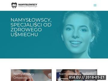 Zrzut strony Namysłowscy implanty Gliwice