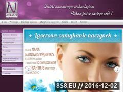 Miniaturka domeny www.nanalaser.pl