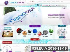 Miniaturka domeny nanocape.pl