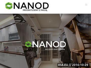 Zrzut strony Szafy na wymiar - Nanod