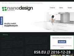 Miniaturka domeny www.nanodesign.pl
