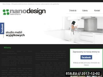 Zrzut strony Nano Design Meble Kuchenne Aleksandra Buchalska