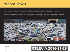 Miniaturka domeny www.nansenserwis.pl
