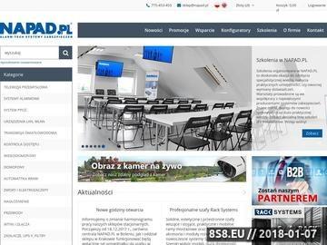 Zrzut strony Kamery IP