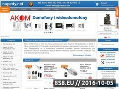 Miniaturka domeny www.napedy.net