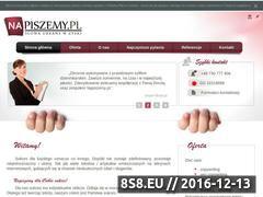 Miniaturka domeny www.napiszemy.pl