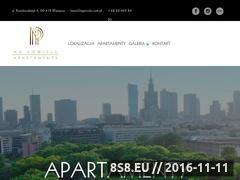 Miniaturka domeny www.napowislu.com.pl