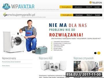 Zrzut strony Naprawa pralek Warszawa, Serwis AGD Warszawa