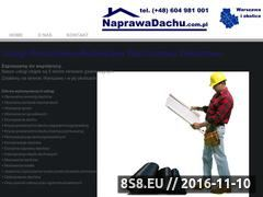 Miniaturka domeny www.naprawadachu.com.pl
