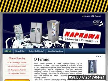 Zrzut strony Naprawa Lodówek - Poznań