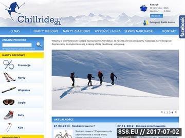Zrzut strony Wypożyczalnia nart biegowych oraz serwis narciarski