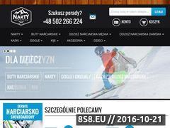 Miniaturka domeny www.nartywarszawa.pl