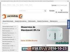 Miniaturka domeny www.narzednik.pl