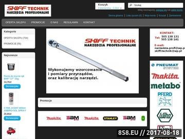 Zrzut strony Skiff Technik - klucze udarowe Płock