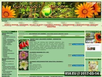 Zrzut strony Cebule kwiatowe oraz nasiona