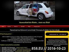 Miniaturka Samochód do ślubu - auto na ślub, wynajem limuzyn Kraków (nasluby.net)
